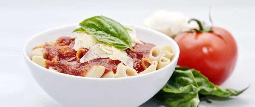 Pasta with Handmade Marinara