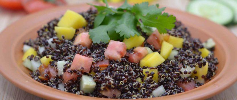 Summer Quinoa Salad de mi Madre